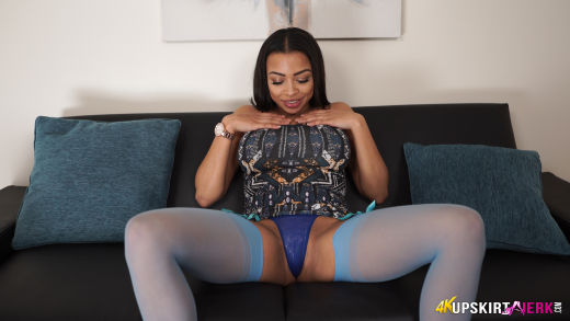 Blue stockings 1